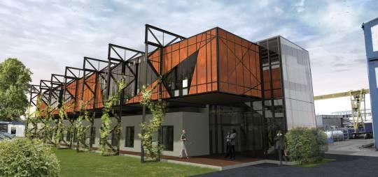 Projekt budowlano – wykonawczy nadbudowy i przebudowy budynku biurowego Przedsiębiorstwa Usług Technicznych IZOTECHNIK w Płocku przy ul. Zglenickiego 44E