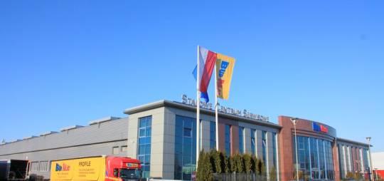 Wielobranżowy projekt hali Stalowego Centrum Serwisowego dla firmy BUDMAT w Płocku