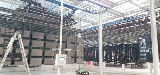 DESIGN OF SUPPORTING STRUCTURE FOR CONVEYORS FOR PAINT LINE