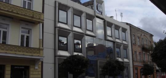 Projekt konstrukcyjny szkieletowej stalowej konstrukcji budynku biurowego dla PZU ŻYCIE S.A. w Płocku przy ul. Tumskiej 6