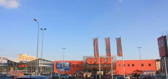 Wielobranżowy projekt budowlany i wykonawczy hipermarketu OBI w Płocku
