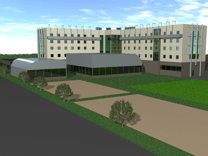 ARCHITECTURAL CONCEPT OF THE THREE-STAR HOTEL NATO TRAINING CENTRE IN BYDGOSZCZ