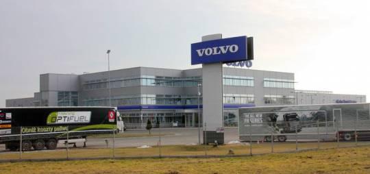 Projekt wykonawczy konstrukcji stalowej CENTRUM VOLVO w Nadarzynie